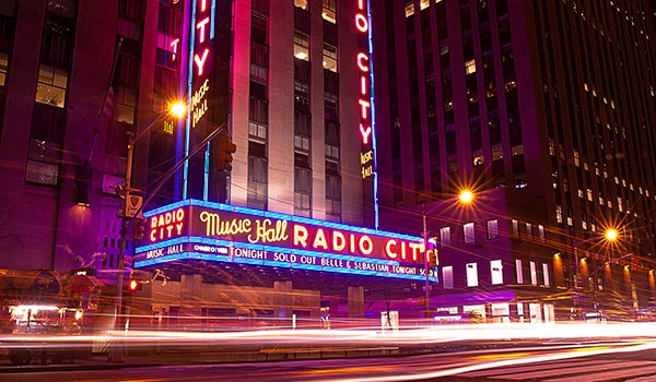 Radio City Music Hall Performances This Month - December 2017