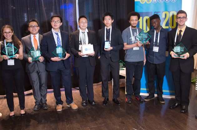 CE Week Honors Young Student Innovators at 10 Under 20 Award Ceremony