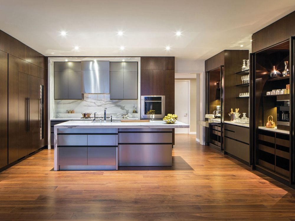 Designed by Scavolini, each One West End kitchen features a baking station and coffee bar.