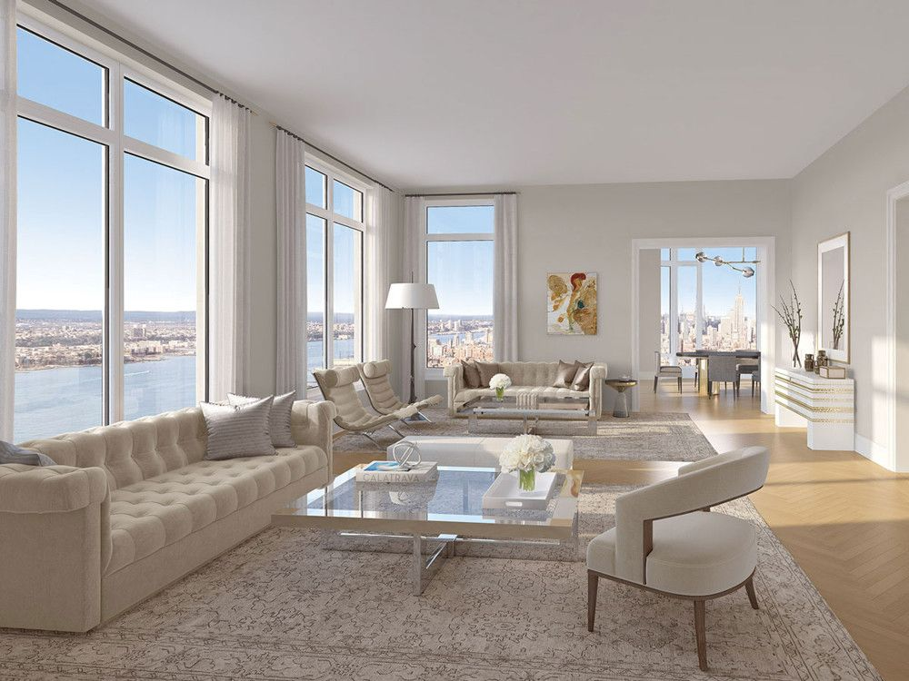 """""""At 30 Park Place, the hotel is informing the residential units–it's quite fun,"""" says Beers. """"It gives us freedom to interpret, be eclectic, and do things."""" Courtesy of Thirtyparkplace.com"""