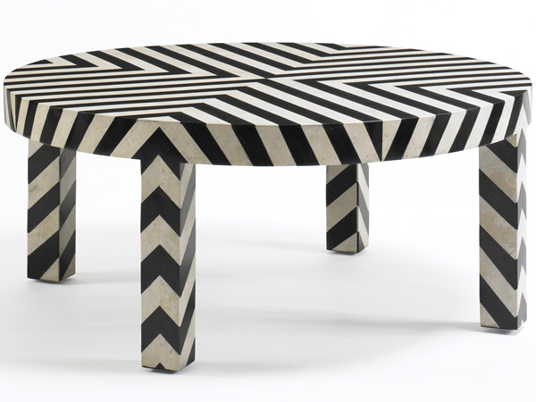 Chevron Cocktail Table