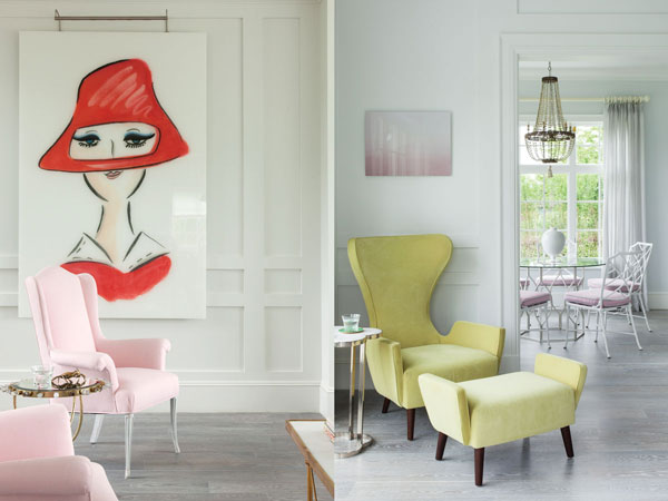 Guillaume Gentet Designs a Hamptons Home in Summery Pastels