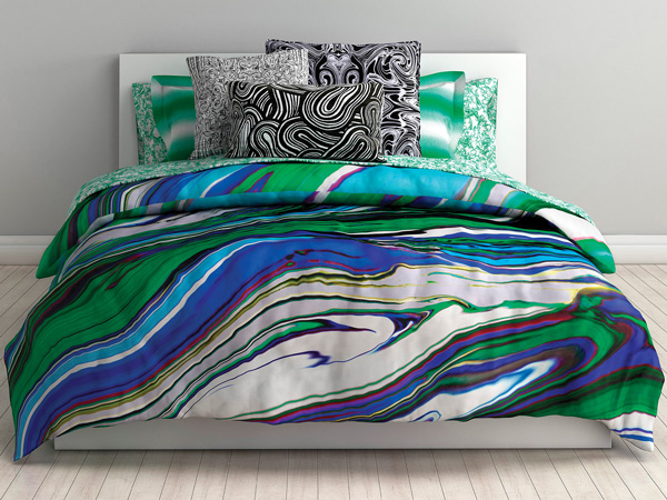 Aqua Bedding Collection