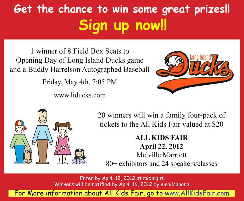 Win tickets to the All Kids Fair Long Island