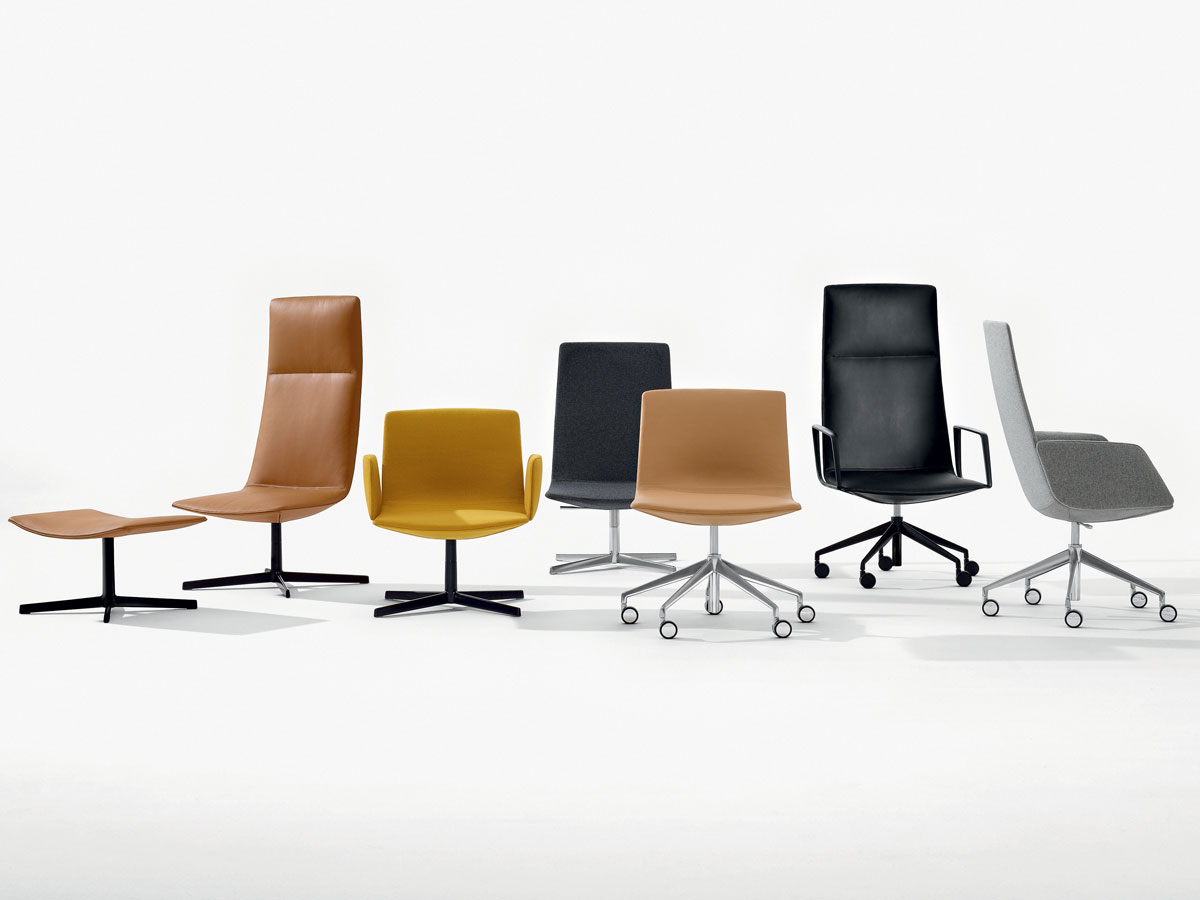 The ergonomically designed Catifa Sensit task chairs come in a parade of different styles.