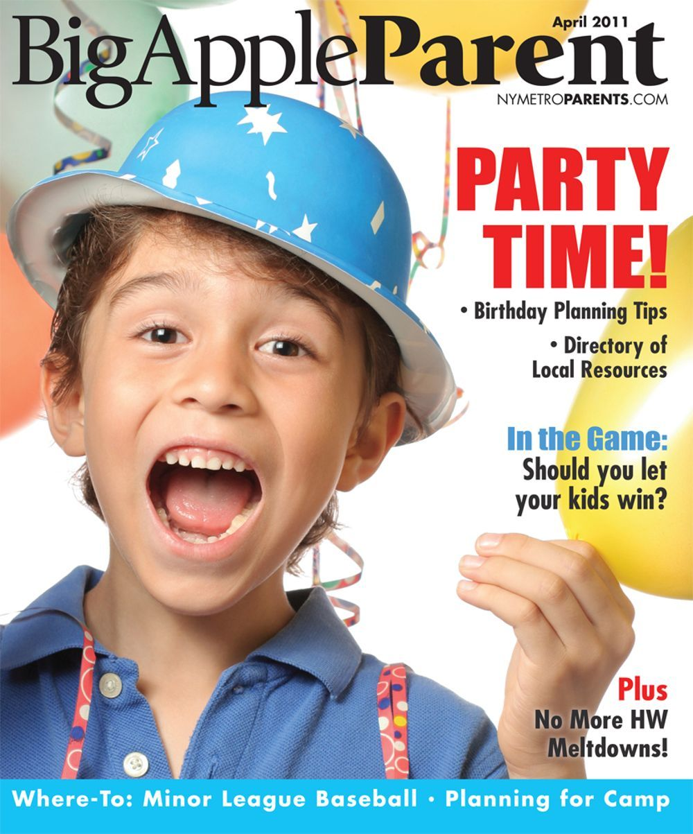 Big Apple Parent April 2011 cover