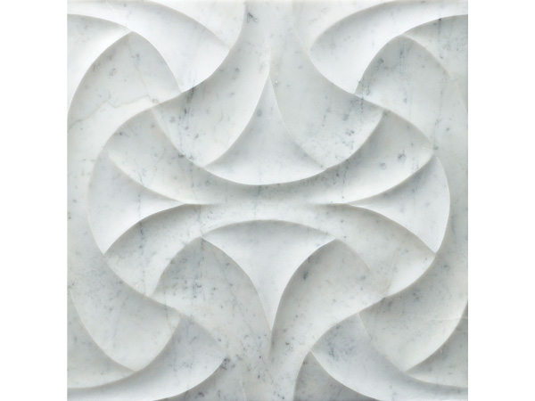 Fan Bianco Carrara Marble Tiles