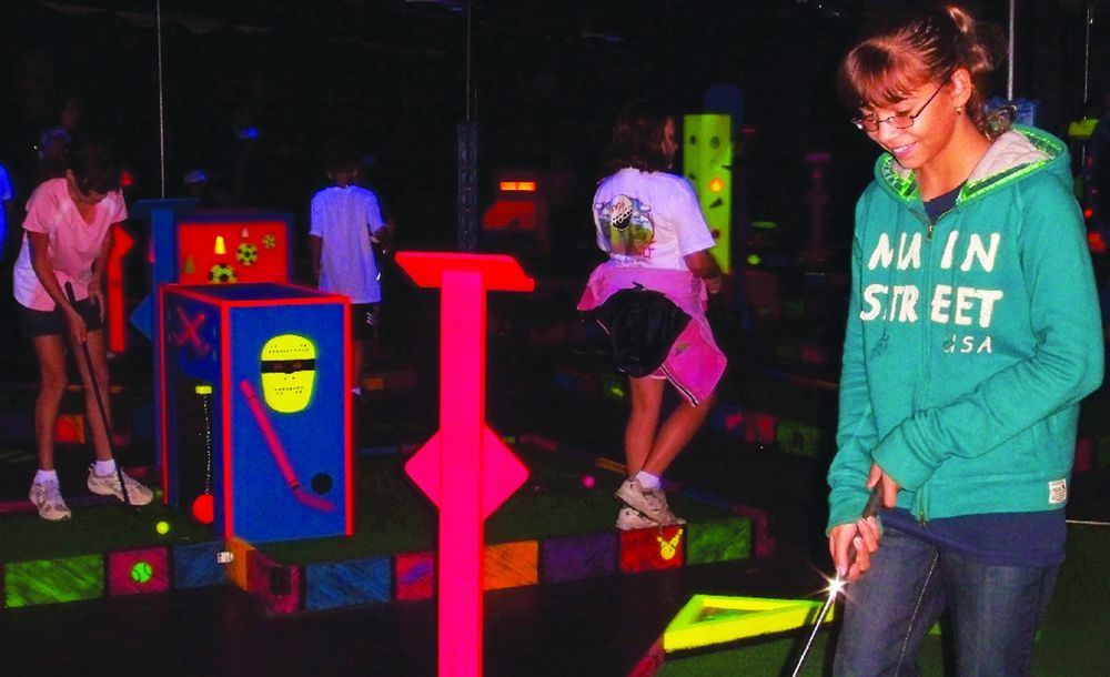 Glo Putt at The Sports Place