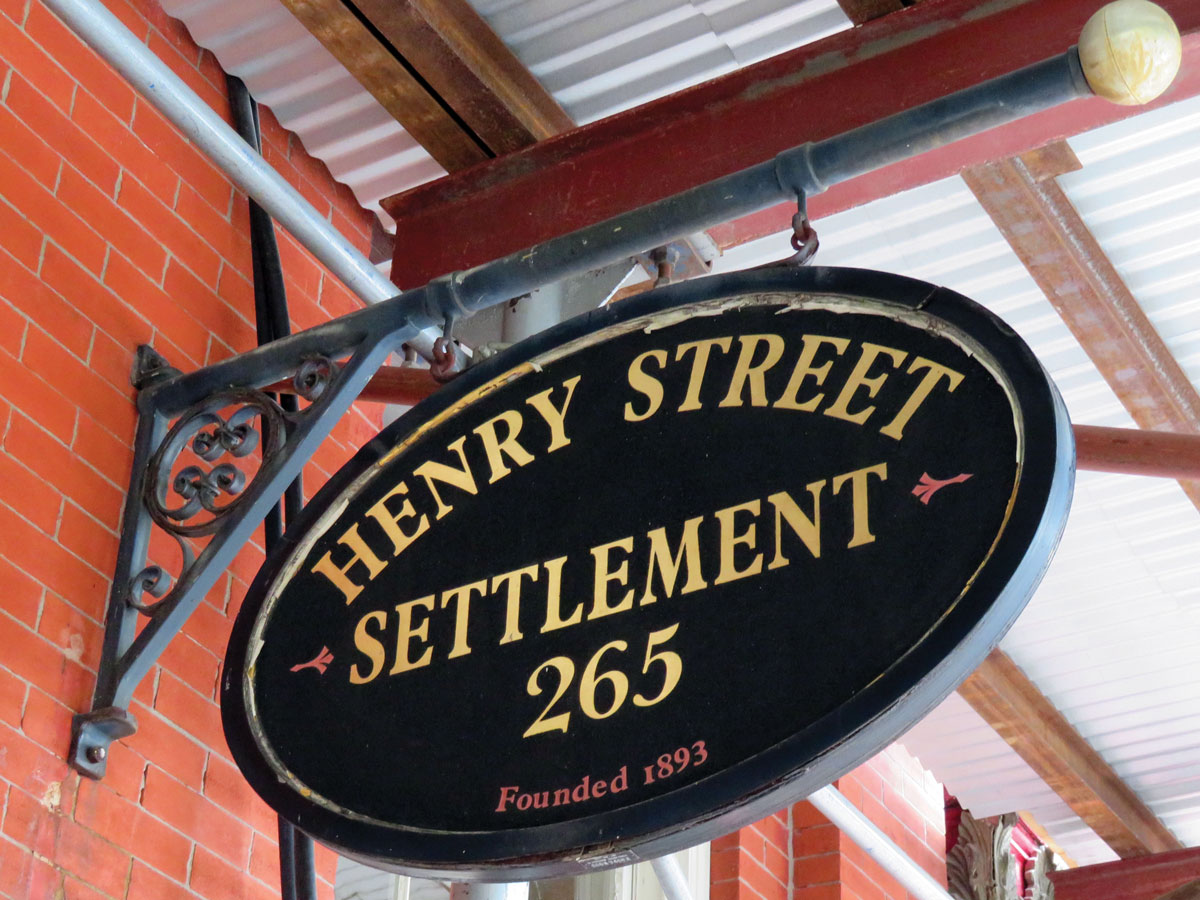 The Henry Street Settlement is a not-for-profit social service agency founded in the 19th century by a nurse.