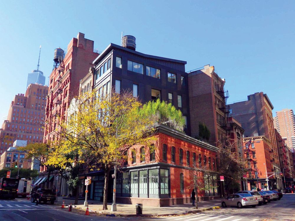 TriBeCa in a glance.