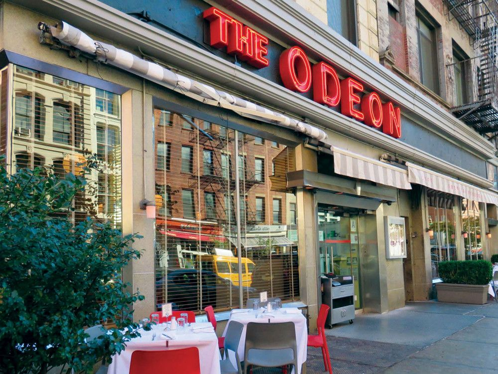 The Odeon, a French bistro with an American accent, has had a slew of loyal patrons since the 1980s.