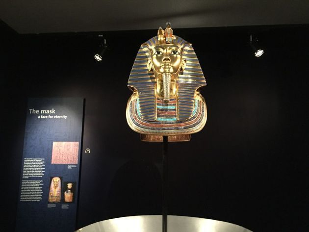 The Discovery of King Tut Opens in Manhattan