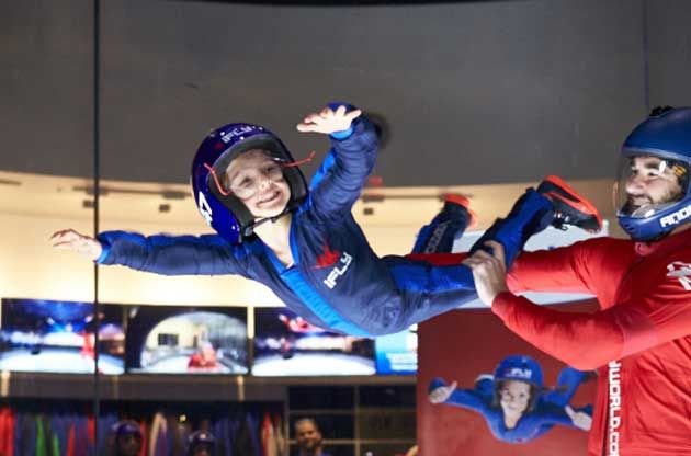 Indoor Skydiving Lets You Fly Like Superman