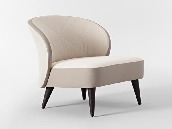 Casa International's Leather-Trimmed Asolo Chair