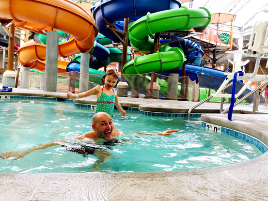 Kalahari Resorts in the Poconos: A Giant Water Park & Much More
