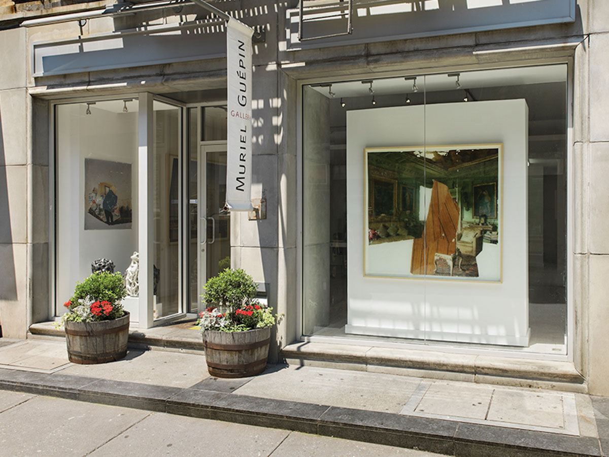 Muriel Guepin Gallery on Orchard Street.
