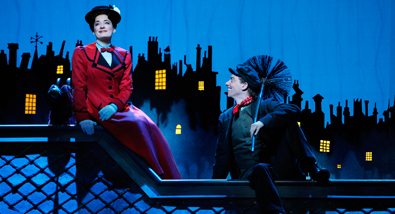 London's Original Mary Poppins & Bert Together Again & Flying High on Broadway