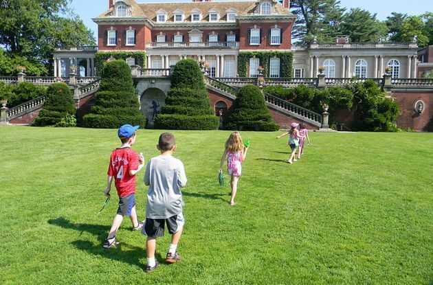 Family Outing: Old Westbury Gardens