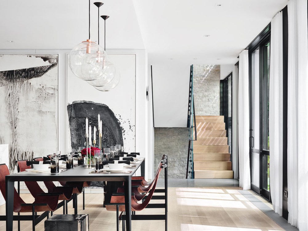 Workshop APD Designs A Chic Home In The West Village Complex Known As The  Printing House