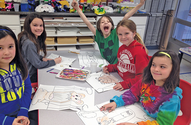 Arts and Crafts to Do with Kids in Rockland in May