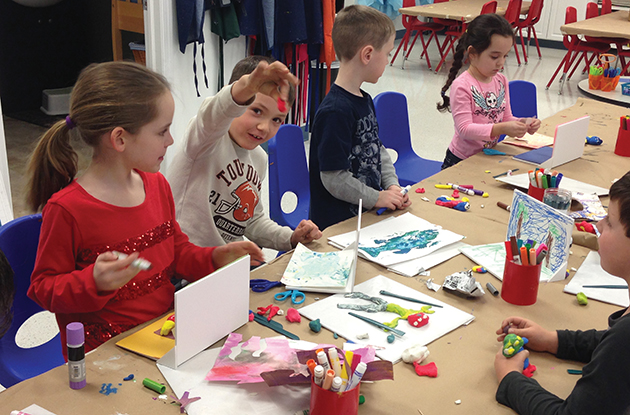 Arts and Crafts to Do with Kids in Rockland in April