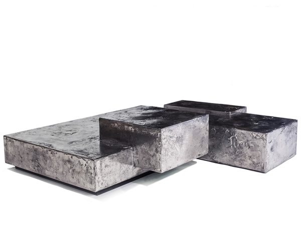 Pewter Landscape Table