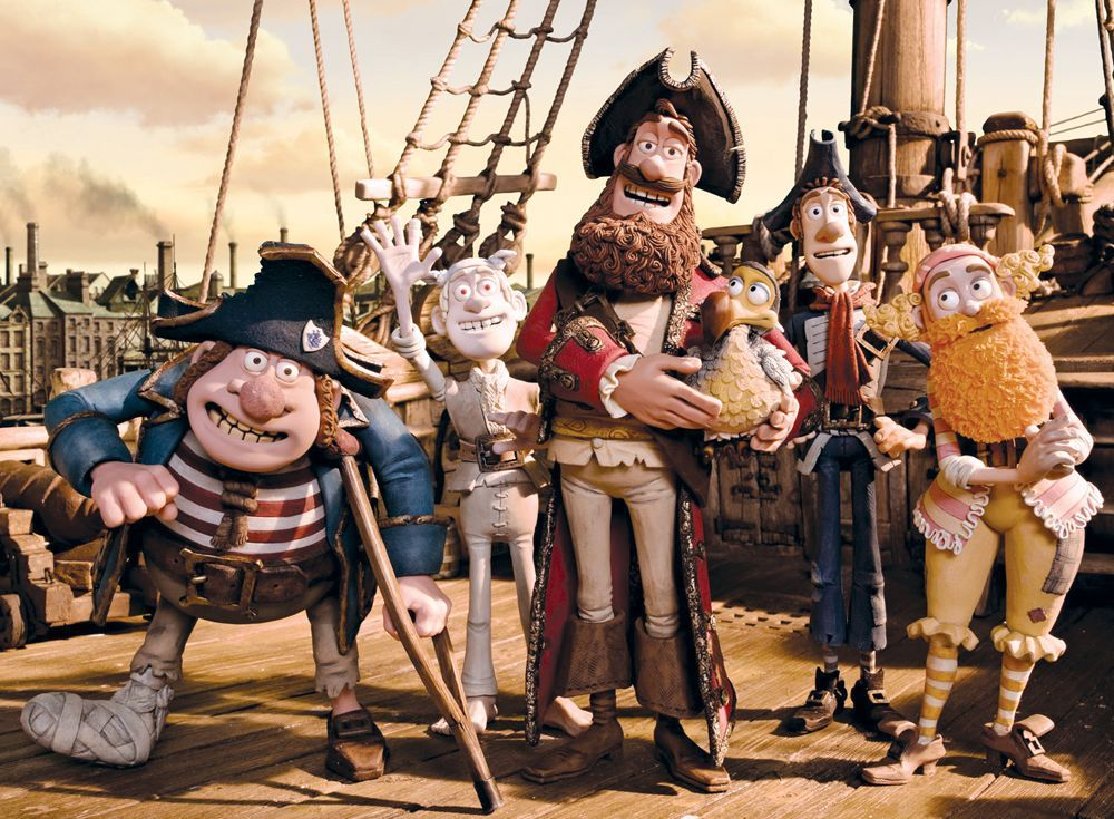 The Pirates! A Band of Misfits movie