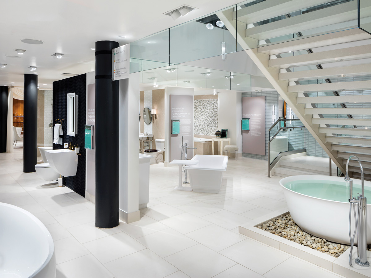 At Pirch SoHo, Sinks, Tubs, And Showerheads.