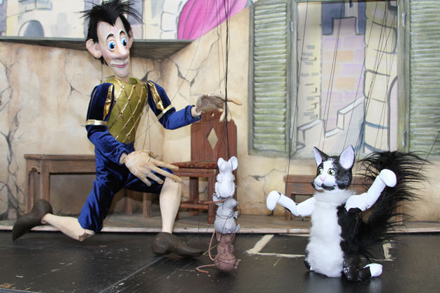 City Parks Foundation's PuppetMobile Launches Puss in Boots