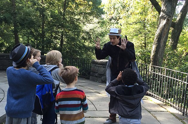Kids' Storytime Scavenger Hunt in Central Park