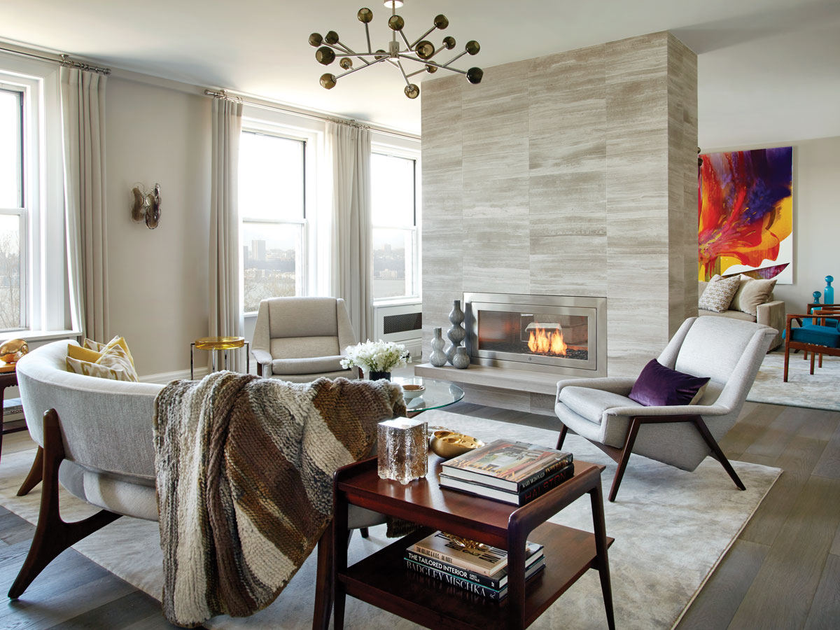 Michele Bitter Designs a Tranquil Retreat on Riverside Drive for Longtime Clients