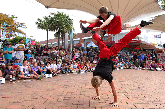 Circus Performers Hit NYC Streets This Summer