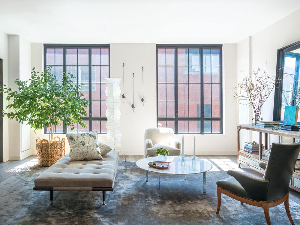 interior designer peter lentz s dumbo apartment new york spaces