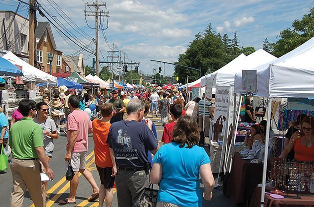Browse and Buy in Rockland in July
