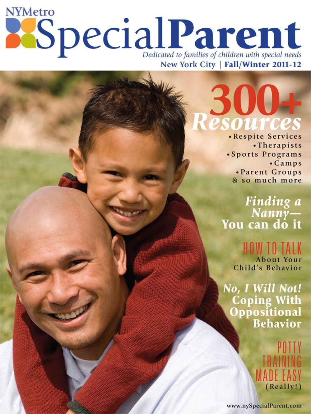NYMetro Special Parent Fall/Winter 2011-12 issue