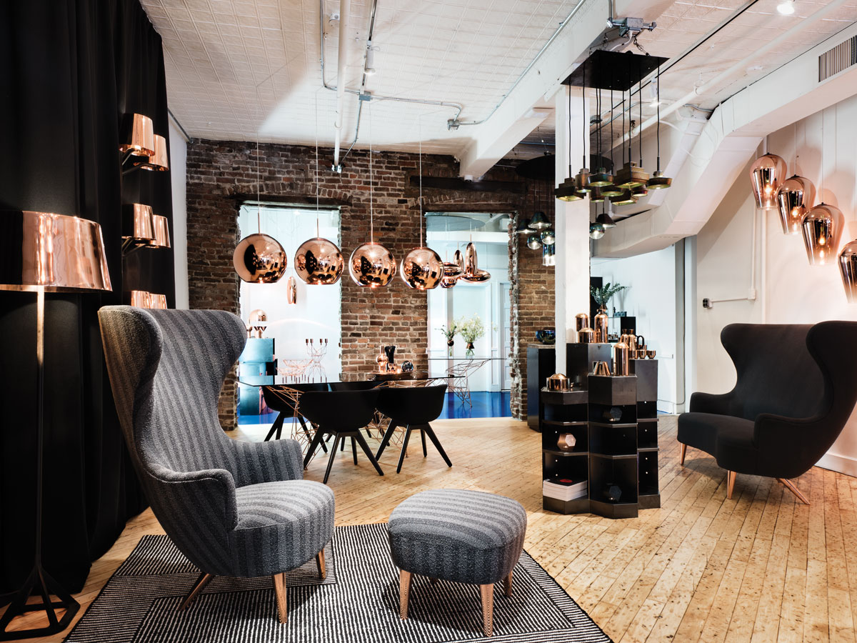 Tom Dixon 39 S Soho Shop Is Packed To The Brim With Contemporary Home Decor New York Spaces