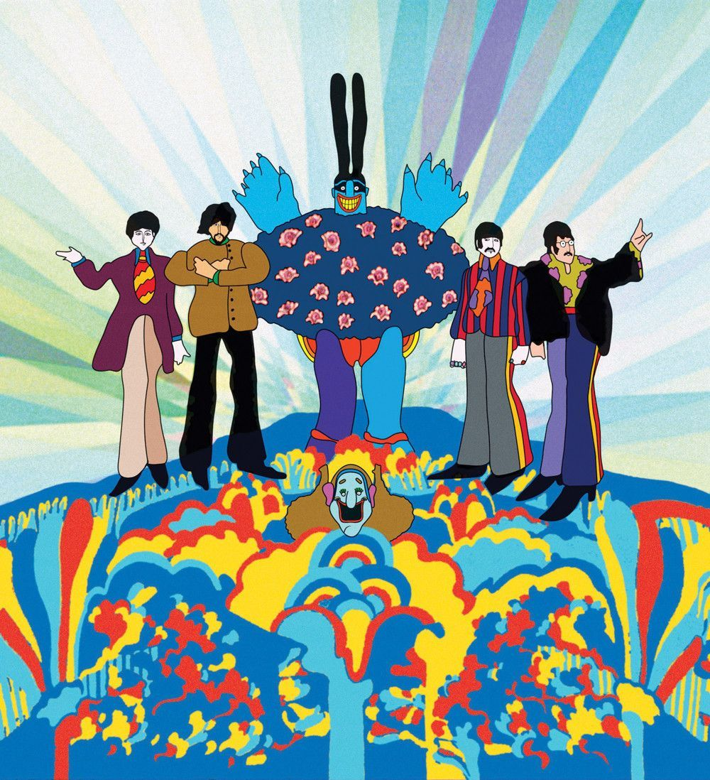 Yellow Submarine Beatles movie