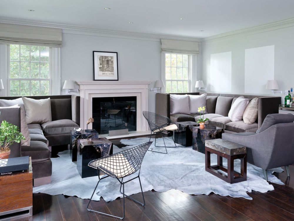 Vicente Wolf Designs A Center Hall Colonial In Scarsdale