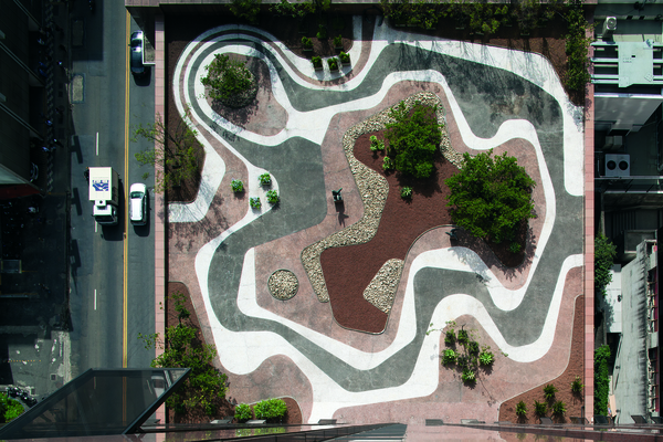 Brazilian Landscape Architect Roberto Burle Marx at the Jewish Museum