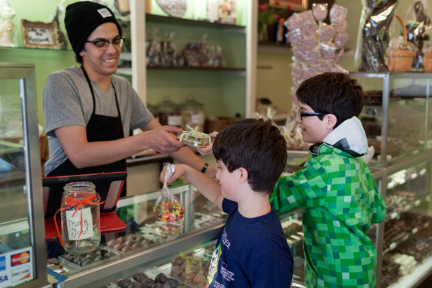 Chocolate Shop in Forest Hills Adds 'Star Wars' and Lego Shapes to its Menu