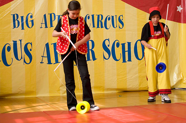 Big Apple Circus Brings After-School Program to NYC Kids