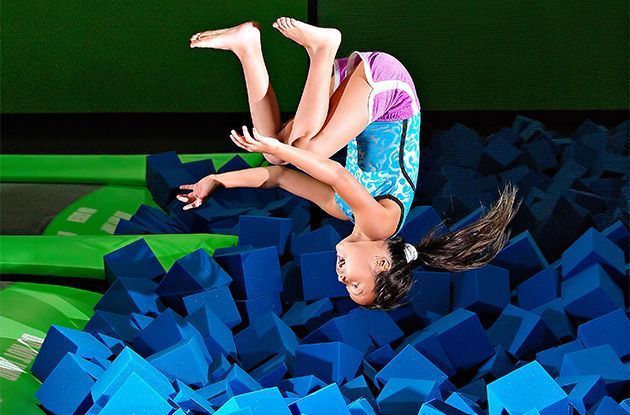 Bounce! Trampoline Sports Opens in Syosset