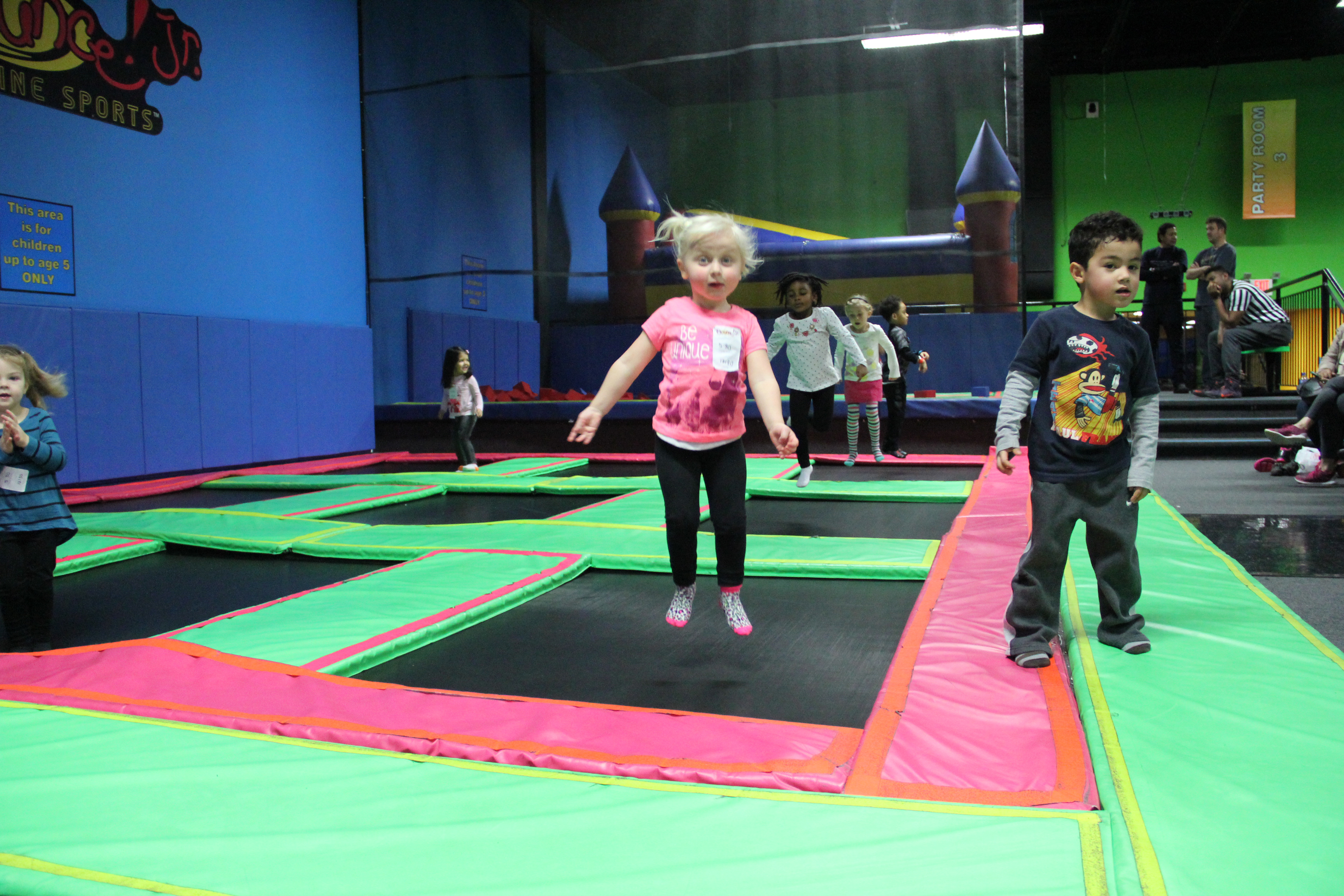 Bounce House in Valley Cottage Adds New Obstacle Course and Café