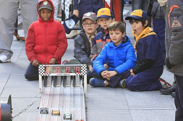 First-Ever Boy Scouts Pinewood Derby World Championship to be Held in NYC