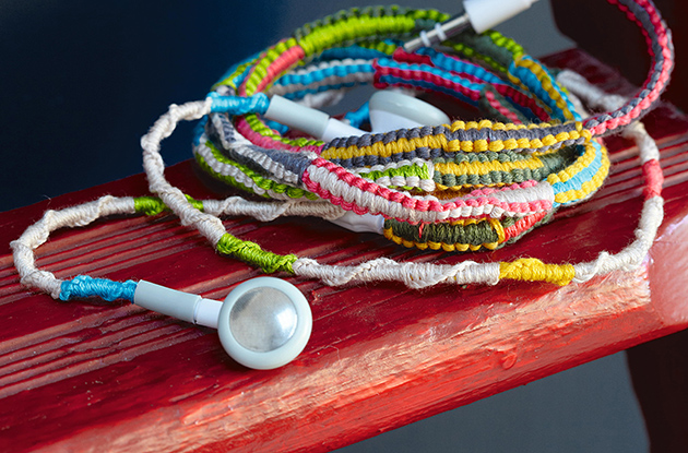 DIY: Braided Headphones