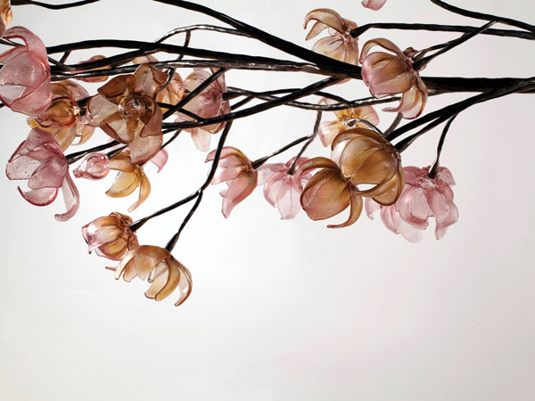 Branching Magnolia Chandelier