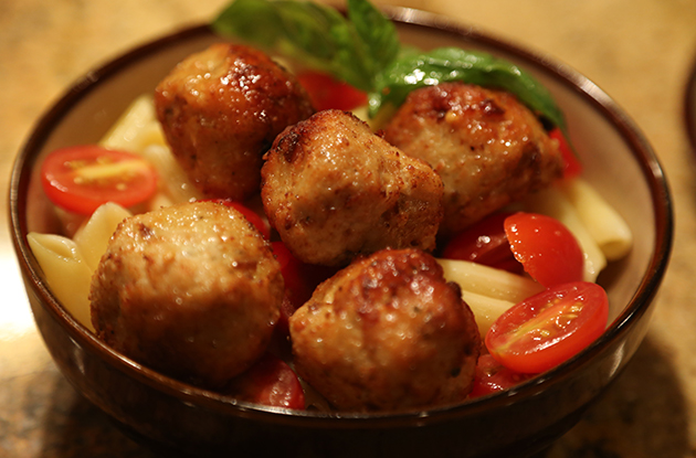 Butera's Chicken Meatballs Recipe