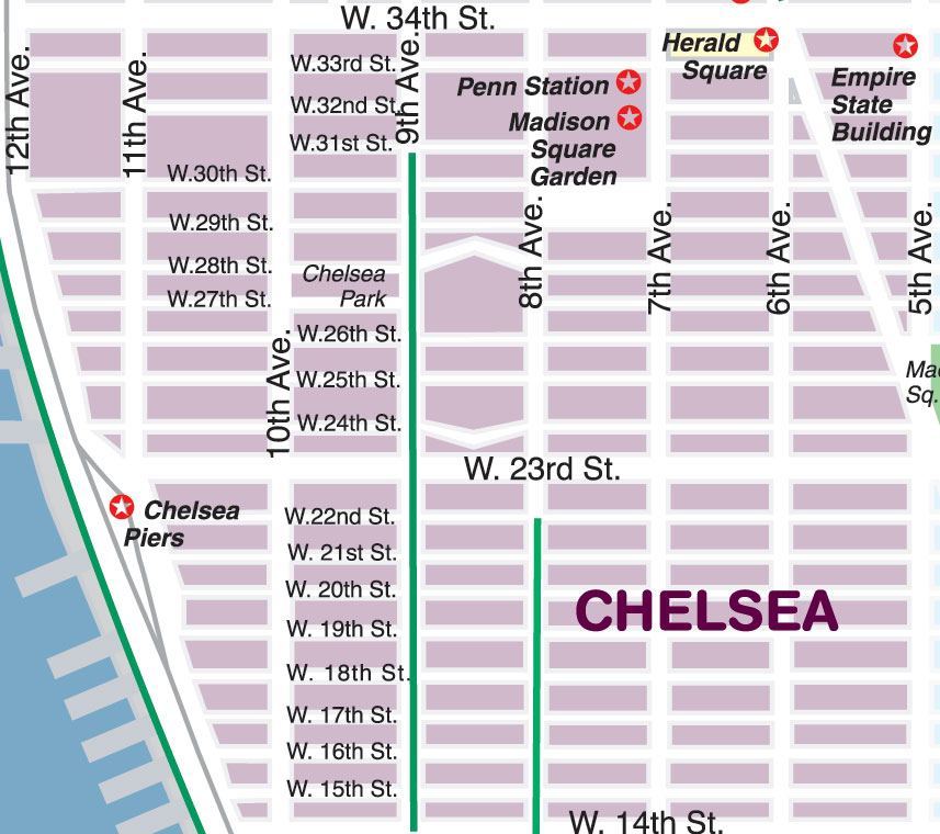 New York City Maps and Neighborhood Guide
