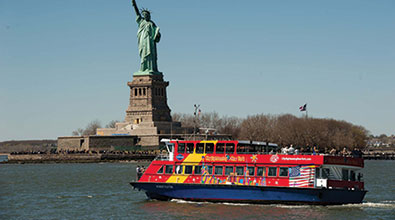 On Board City Sightseeing New York's New Hop-On, Hop-Off Ferry Tours