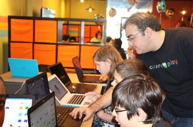 Robotics and Coding for Birthday Parties at CulturePlay